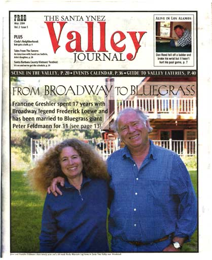 Santa Ynez Valley Journal article on Francine